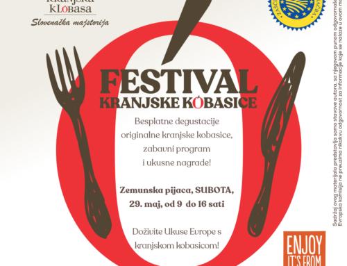 Pozivamo vas na prvi Festival kranjske kobasice!